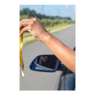 Papeterie Peau de chute de bras de fenêtre de voiture de