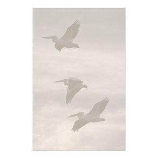 Papeterie Plage d'animaux de faune d'oiseaux de pélican