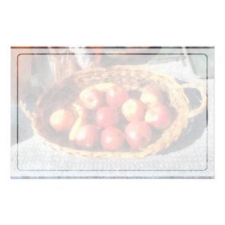 Papeterie Pommes et bananes dans le panier
