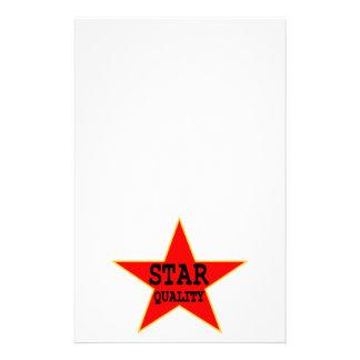 Papeterie Qualité d'étoile