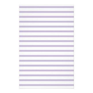 Papeterie Rayures de papier rayées par violette pour la