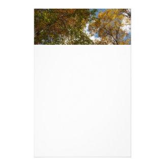 Papeterie Recherche à tomber nature d'automne du feuille II