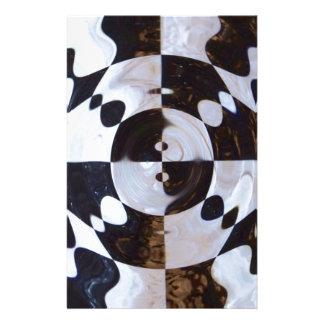 Papeterie Remous Checkered de drapeau
