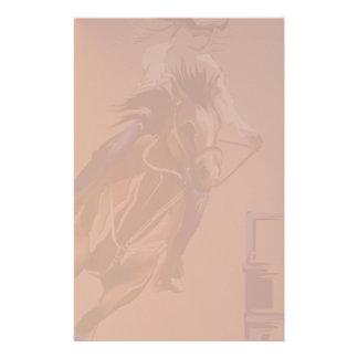 Papeterie Roche stationery_vertical.v2. de chevaux de baril