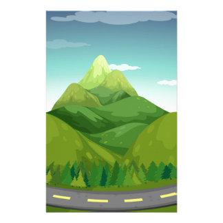 Papeterie Route et montagne
