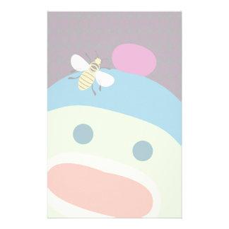 Papeterie Singe et abeille de chaussette