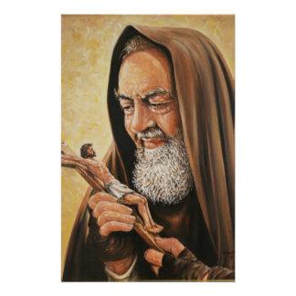 Papeterie St Crucifix de prêtre de l'aumônier Pio