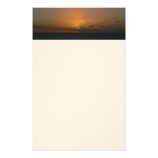 Papeterie Sun derrière la photographie de paysage marin des