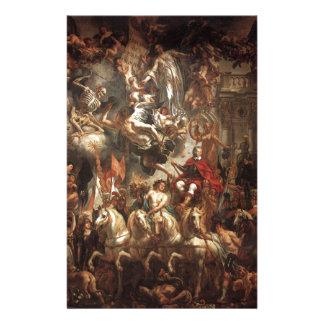 Papeterie Triumph de Frederik Hendrik par Jacob Jordaens