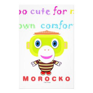 Papeterie Trop mignon pour mon propre Singe-Morocko