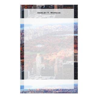 Papeterie Une vue d'en haut : Automne dans le Central Park