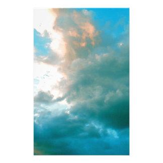 Papeterie Vers le haut de dans les nuages