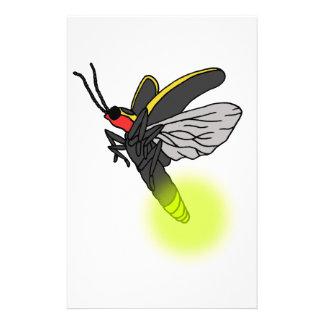 Papeterie vol 2 d'insecte de foudre allumé