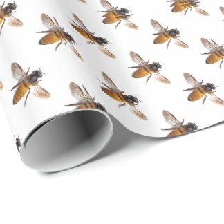 Papier Cadeau Abeille de miel