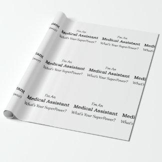 Papier Cadeau Aide médical