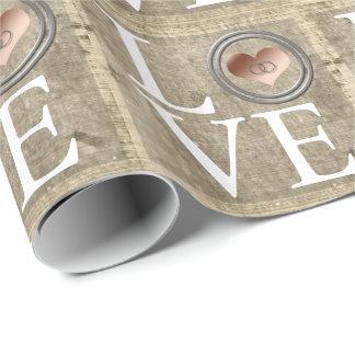 Papier Cadeau Amour-Avec cet anneau par Shirley Taylor