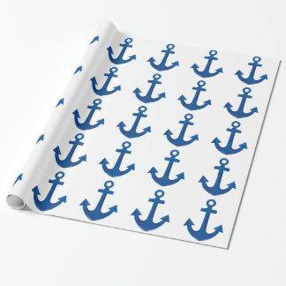 Papier Cadeau Ancre de bateau
