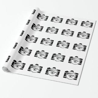 Papier Cadeau Appareil photo numérique avec un oeil