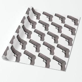 Papier Cadeau Arme à feu