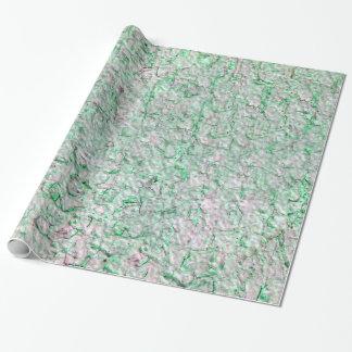 Papier Cadeau Arrière - plan vert de mur