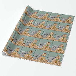 Papier Cadeau bande dessinée d'aide de souris de 631 ordinateurs
