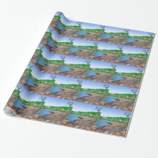 Papier Cadeau Bateau Largs Ecosse de Viking