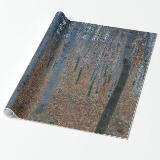 Papier Cadeau Beaux-arts GalleryHD de hêtraie de Gustav Klimt