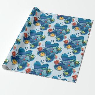 Papier Cadeau Bébés de l'eau