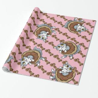 Papier Cadeau Beignet de bonbon à Kitty