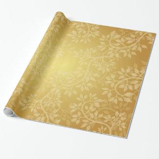 Papier Cadeau Belle vigne d'or