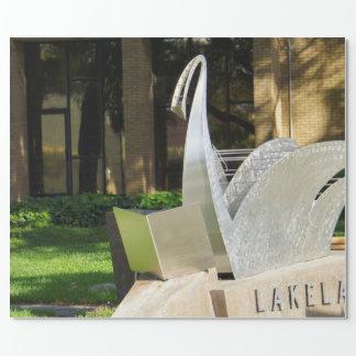 Papier Cadeau Bibliothèque de la Région des lacs
