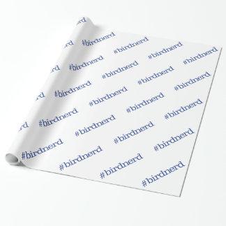 Papier Cadeau #birdnerd