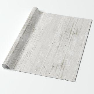 Papier Cadeau Bois blanchi rustique
