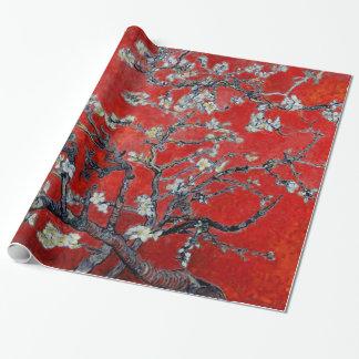 Papier Cadeau Branches de Vincent van Gogh avec la fleur