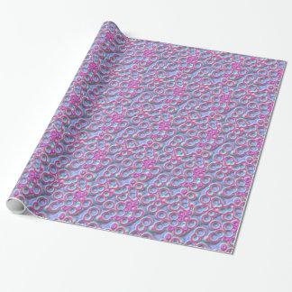 Papier Cadeau Bulles géniales de gelée de bruit de couleur