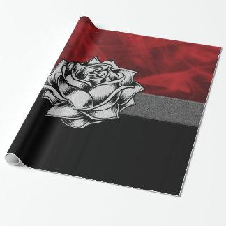 Papier Cadeau Cadeau rustique grunge magnifique de coutume de