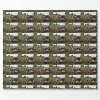 Papier Cadeau Carte de travail 57 de Dodge