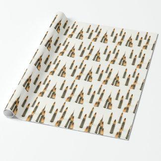 Papier Cadeau Cartouche 7.62x39 d'AK47 de balle de munitions