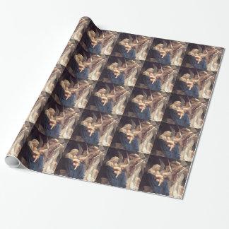 Papier Cadeau Chanson des anges - William-Adolphe Bouguereau