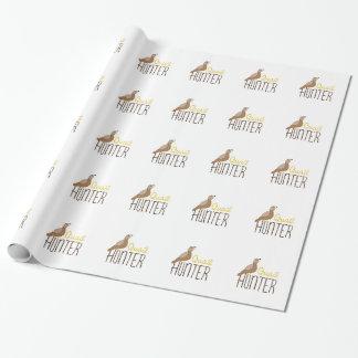 Papier Cadeau Chasseur de cailles