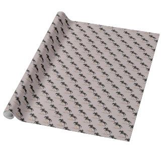 Papier Cadeau Cheval de pullover de chasseur