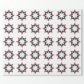 Papier Cadeau Choisissez votre conception de disque d'étoile