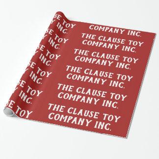Papier Cadeau Clause Toy Company inc. -