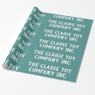 Papier Cadeau Clause Toy Company Inc.Teal -
