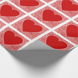 Papier Cadeau Coeur