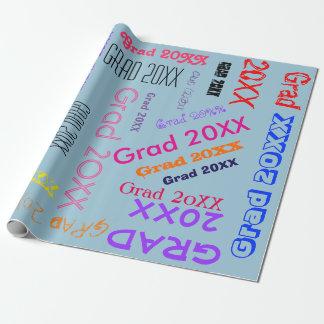 Papier Cadeau Collage fait sur commande de mot personnalisé par