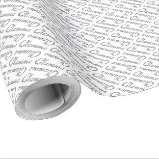 Papier Cadeau Conception bling de Glamma