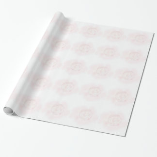 Papier Cadeau Conception de rose de chou