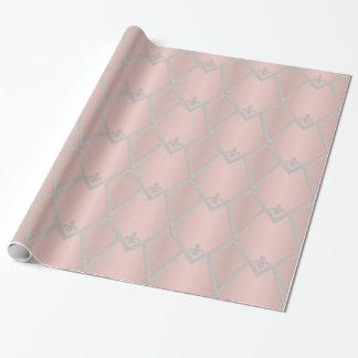 Papier Cadeau Conception élégante d'enveloppe de perle sur le