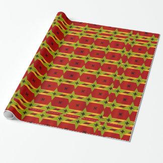 Papier Cadeau Conception indienne de textile